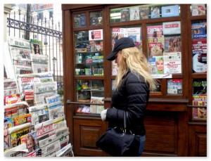 Газетные киоски