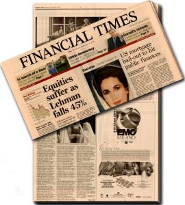 Продажа знаменитой газеты Financial Times за 1 миллиард фунтов стерлингов