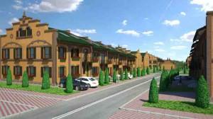 Завершено возведение первоочередных домов квартала «Кронбург»