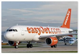 Начаты полёты в Москву лоукостера Easy Jet.