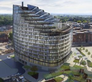 Строительство одного из крупнейших деловых центров в Великобритании закончено
