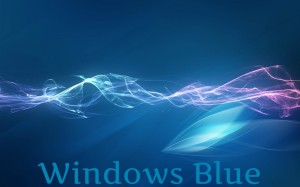 Скоро пользователи оценят голубой Windows