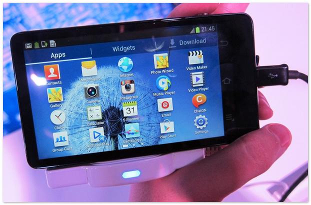 В ряд «зеркалок» теперь попал и Samsung Galaxy Camera.