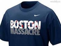 Nike отказался от продаж фирменных футболок «Boston Massacre»