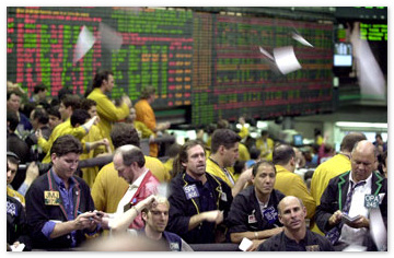 Напряженная неделя на фондовом рынке закончилась для рубля в плюсе
