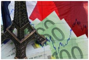 Снижение ВВП Франции
