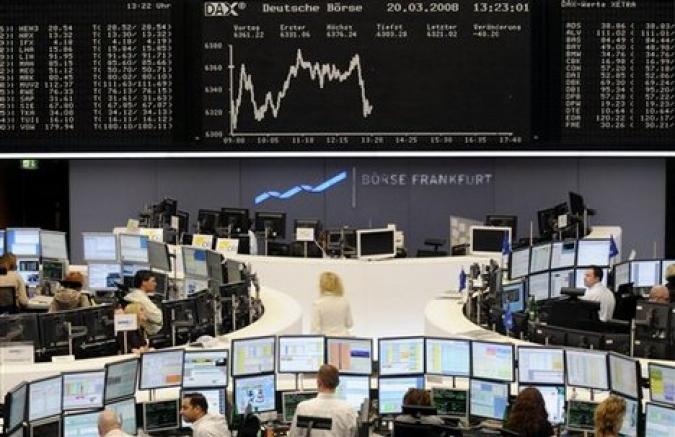 Россия закрыла фондовые торги с понижением индексов