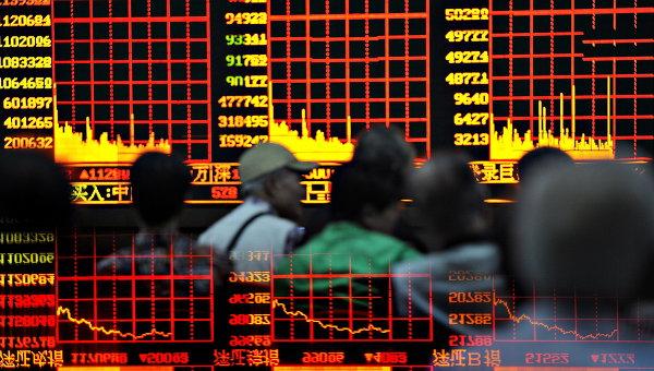 Фондовая площадка США, показала понижение