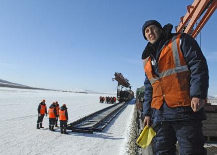 Планируется расширение российских железных дорог