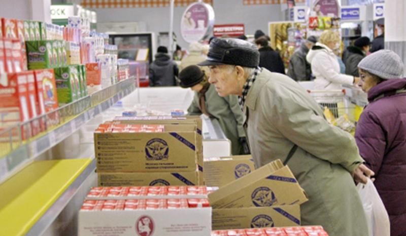 Минимальный набор продуктов с начала года увеличился в стоимости на 13,3%