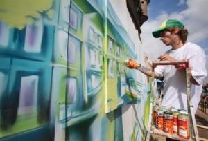 Уличное граффити становится доходным делом