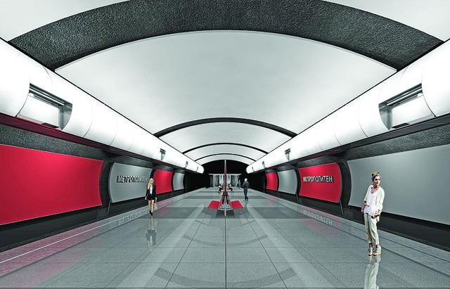 Строительство метрополитена в Москве составит 573,3 миллиарда рублей