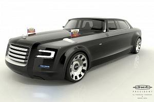 Открывается пилотный проект по разработке российского лимузина для первых лиц страны