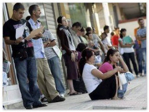 Безработица в Испании снизилась впервые с 1997 г.