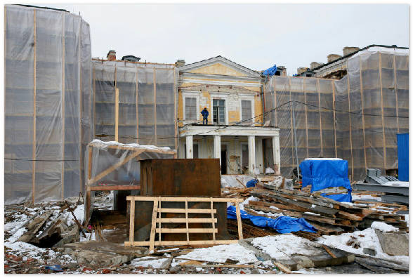 Кампус бизнес-школы СПбГУ строится уже 7 лет, но ни один объект до сих пор не готов