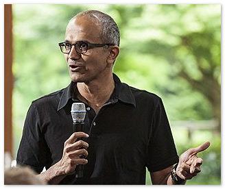 Сатья Наделла стал главным кандидатом на пост главы Microsoft