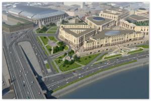 На месте заводов и рынков в центре Казани построят жилье