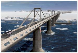 """""""Автодору"""" поручили построить мост через Керченский пролив"""