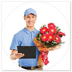 Как возникла служба доставки цветов?