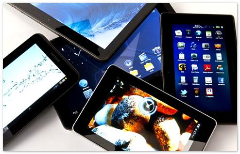 Объем российского рынка планшетов вырос за последний год на 65%