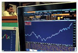 Рынок акций снова в