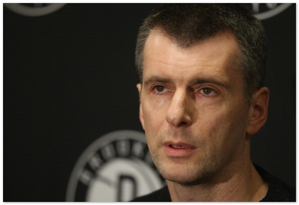 Прохоров опроверг заинтересованность в продаже клуба НБА Brooklyn Nets
