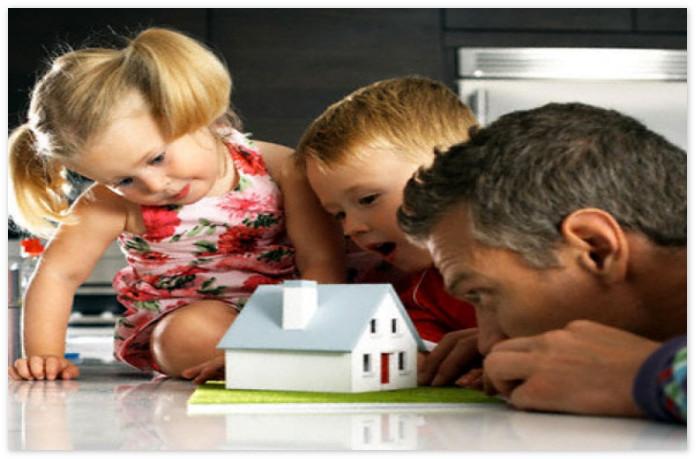 Банки готовы кредитовать многодетные семьи на покупку индивидуального жилья