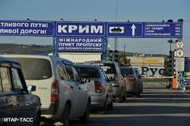 Автомобильная очередь на Керченской переправе в порту «Крым» продолжает сокращаться