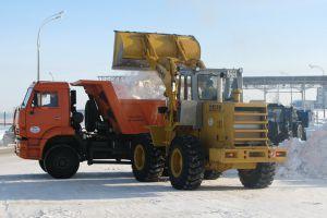 Вывоз снега и мусора частной компанией