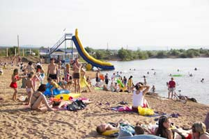 Простой летний бизнес на пляже