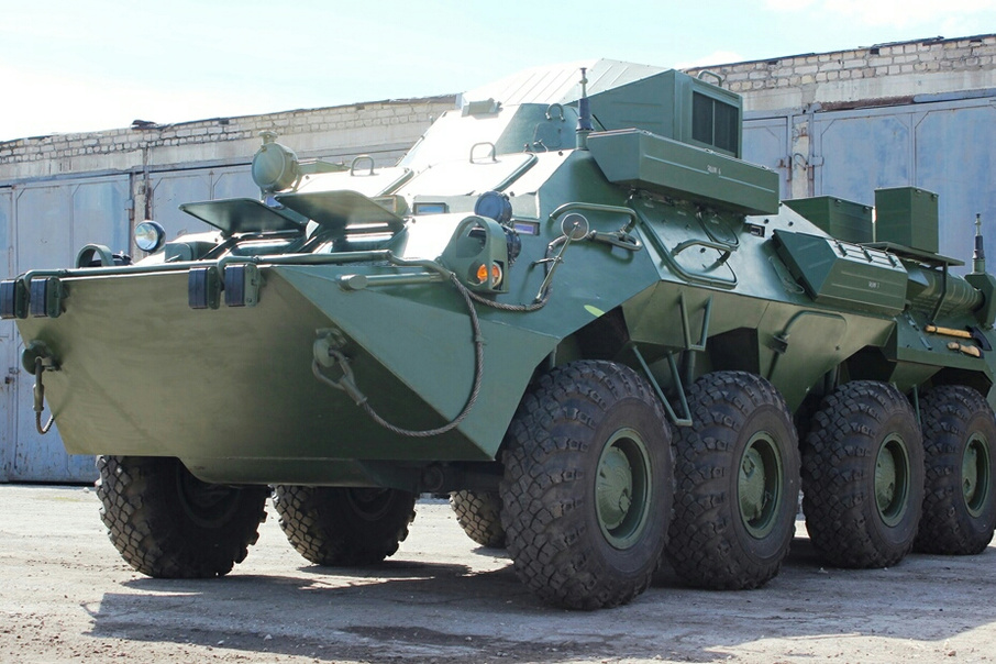 Самарскую мотострелковую бригаду ЦВО оснастили новыми бронемашинами