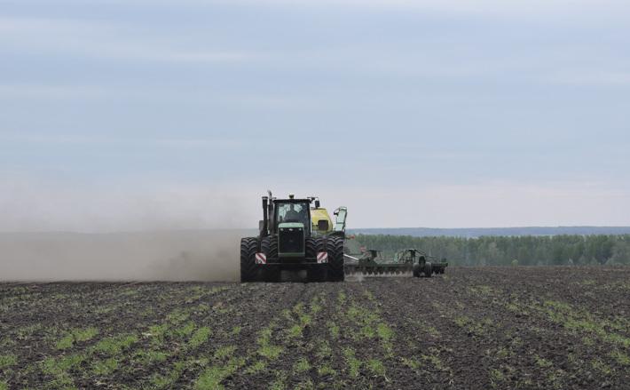 Весенние заботы аграриев