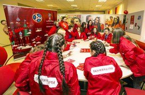 На Кубок Конфедераций FIFA 2017 отправятся 50 самарских волонтёров