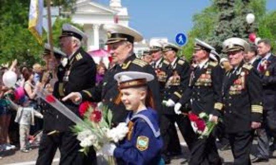 Праздничные мероприятия в Крыму для ветеранов Второй мировой войны