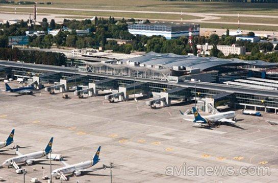 Каждый третий пассажир Борисполя в 1 квартале 2017 года использовал аэропорт для пересадки