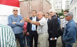 Аллея ветеранов вместо торгового павильона: глава Ульяновска умыл руки