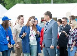 Мэр Самары посетил форум «iВолга»