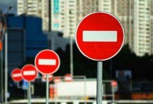 В Самаре приостановят автомобильное движение на трёх участках улиц