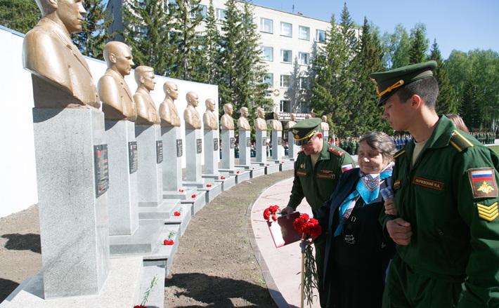 Открыт мемориал памяти Героев