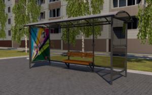 В Самаре появится 88 новых остановочных павильонов
