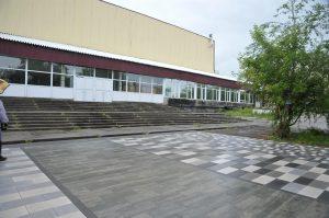 Около стадиона «Самара Арена» плиткой выложат эмблему «Крыльев Советов»