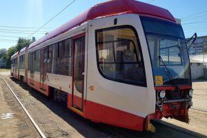 В Самару поступило ещё два трёхекционных трамвая