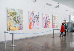 В Курумоче открылась выставка итальянского художника Марко Грасси