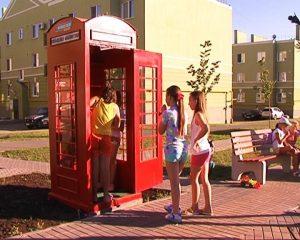 В Самаре появилась уличная библиотека в виде английской телефонной будки