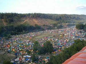 Во время Грушинского фестиваля пострадало около 350 человек