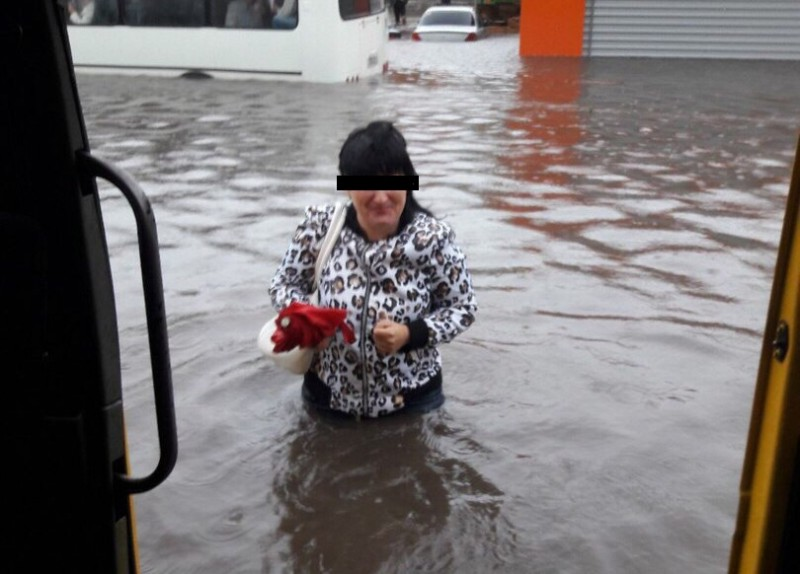 Ульяновск уходит под воду