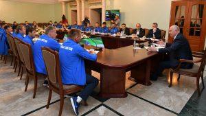 «Крылья Советов» встретились с губернатором Самарской области