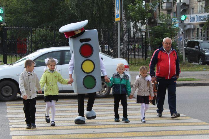 В Новосибирске снизилось количество ДТП с детьми