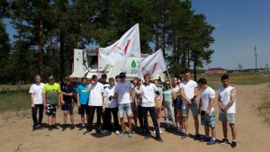 Самарские активисты ОНФ очистили берега Васильевских озёр в Тольятти