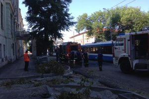 В Самаре снова горело здание Реального училища